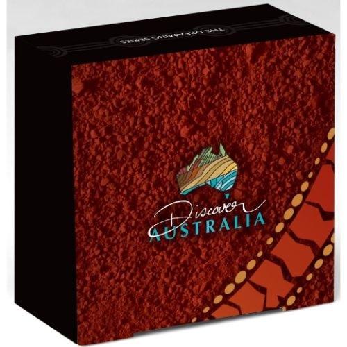 (W017.1.D.2011.1118DEAA) 1 Dollar Australia 2011 1 oz Proof Ag - Tasmanian devil (box) (zoom)