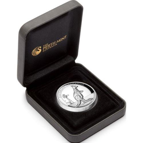 (W017.1.D.2012.1234DAAA) 1 Dollar Australia 2012 1 oz Proof Ag - Kangaroo (case) (zoom)