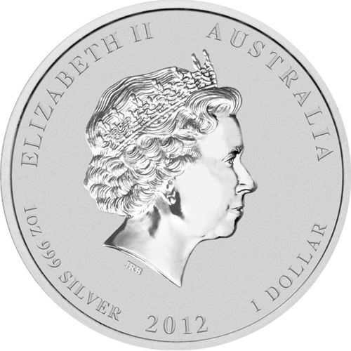 (W017.1.D.2012.12T22AAA) 1 Dollar Australia 2012 1 ounce Proof silver - China Friendship Obverse (zoom)