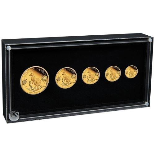 (W017.set.2020.20114ZAAA) Coin set Australia 2020 Proof gold - Kangaroo (inside) (zoom)