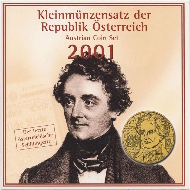 (W018.BU.set.2001.1) BU coin set Austria 2001 (zoom)