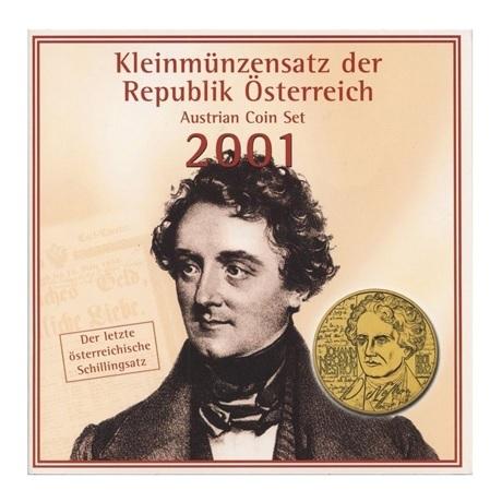 (W018.BU.set.2001.1) Coffret BU Autriche 2001