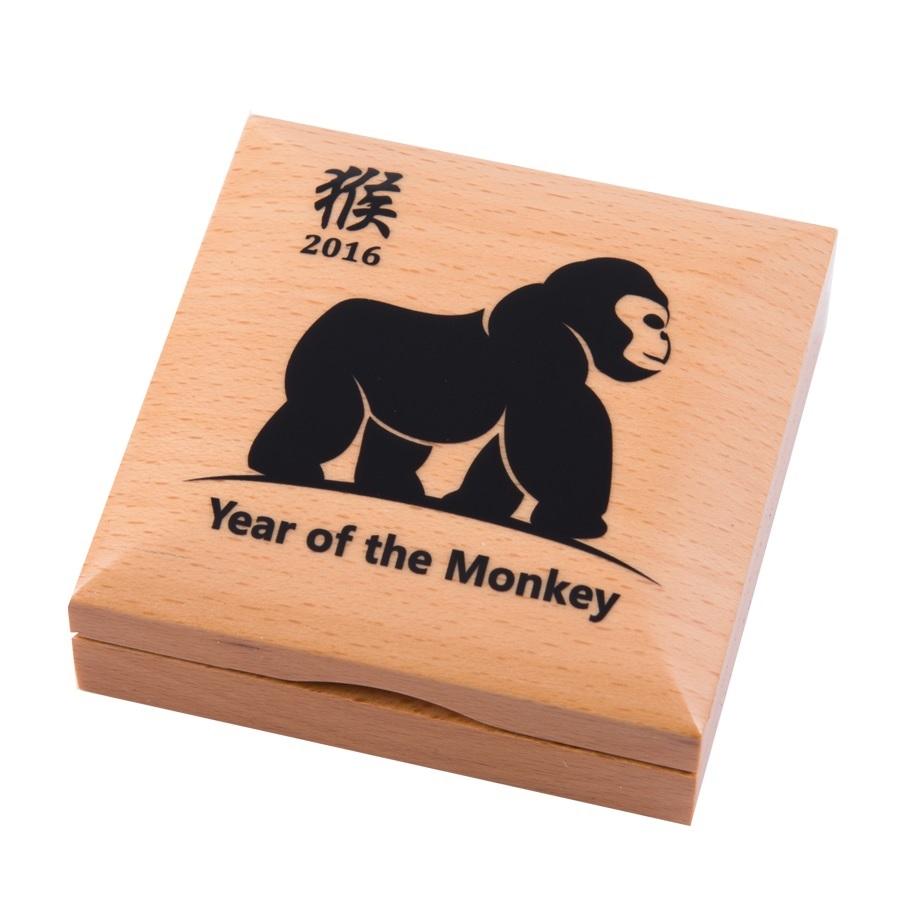 (W151.500.Tögrög.2020.1.oz.Ag.1) 500 Tögrög Mongolia 2020 1 oz silver - Year of the Monkey (case) (zoom)