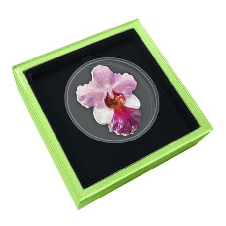 (W160.200.2020.1.oz.Ag.6) 2 Dollars Niue 2020 1 oz Ag BE - Orchidée (écrin)