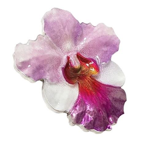(W160.200.2020.1.oz.Ag.6) 2 Dollars Niue 2020 1 oz argent BE - Orchidée Revers