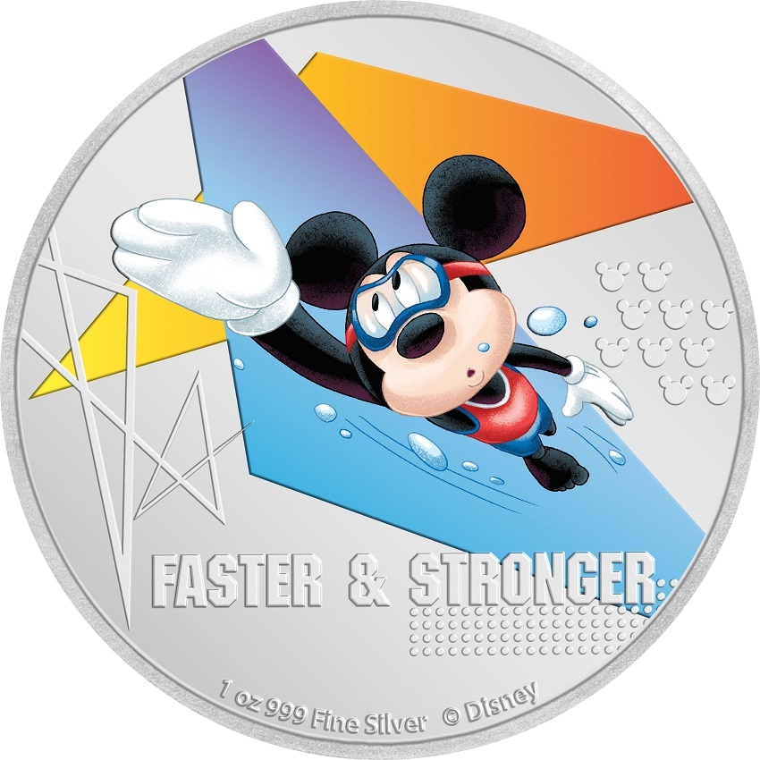 (W160.200.2020.30-00968) 2 Dollars Niue 2020 1 oz Proof silver - Faster & stronger Reverse (zoom)