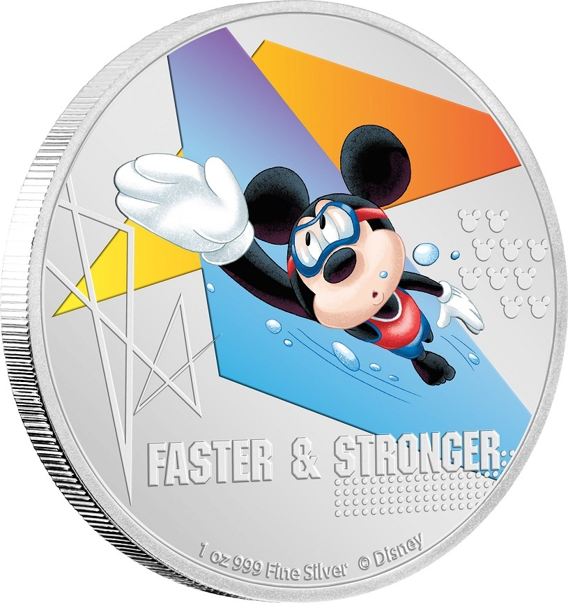 (W160.200.2020.30-00968) 2 Dollars Niue 2020 1 oz Proof silver - Faster & stronger (edge) (zoom)