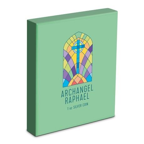 (W160.200.2020.30-00971) 2 Dollars Niue 2020 1 once Ag BE - Archange Raphaël (boîte)