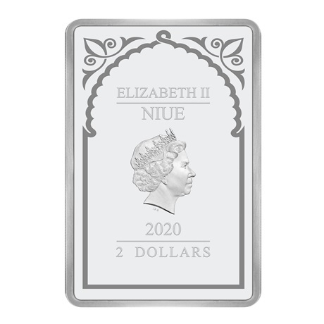 (W160.200.2020.30-00971) 2 Dollars Niue 2020 1 once argent BE - Archange Raphaël Avers