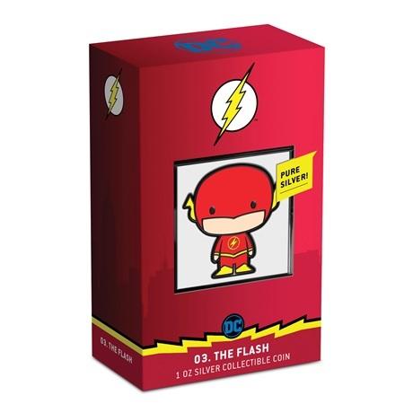 (W160.200.2020.30-01002) 2 Dollars Niue 2020 1 once Ag BE - Chibi Flash (packaging)