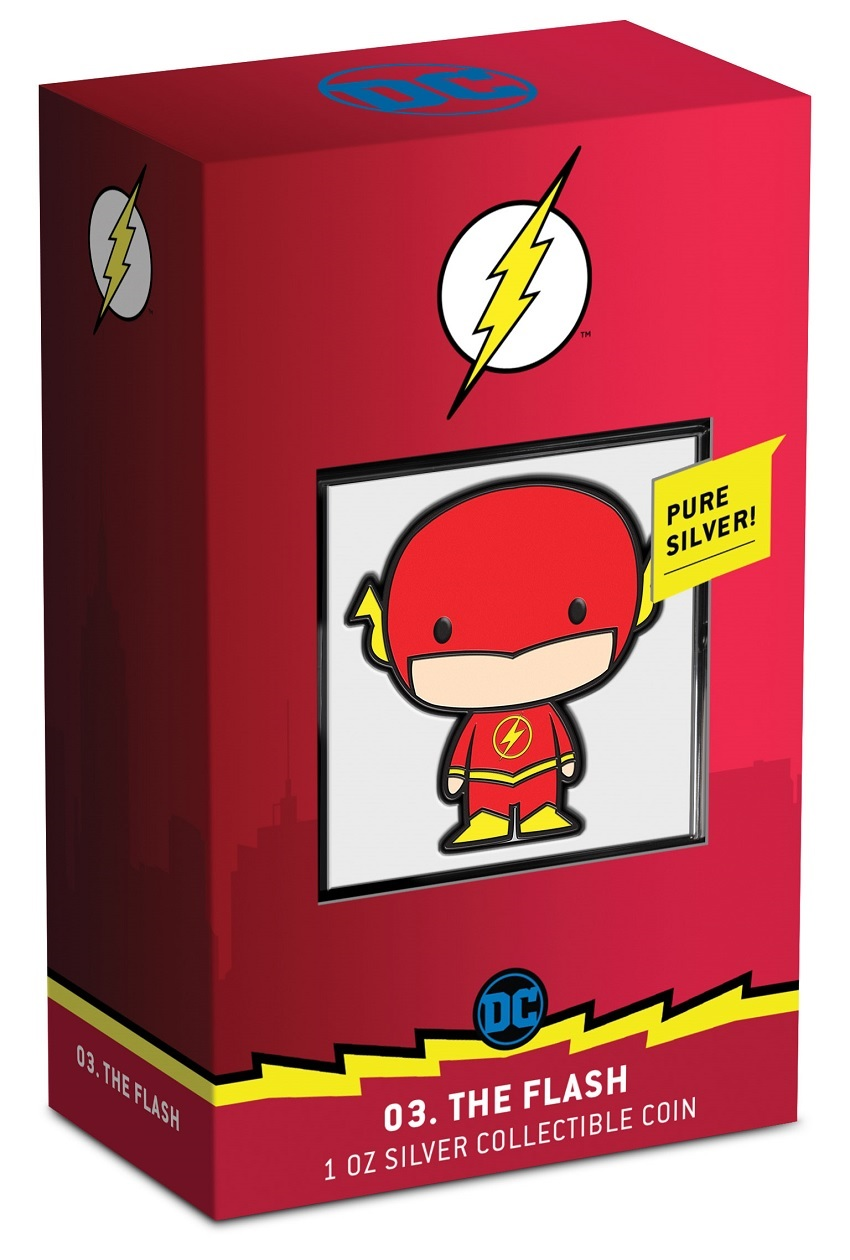 (W160.200.2020.30-01002) 2 Dollars Niue 2020 1 oz Proof Ag - Chibi The Flash (packaging) (zoom)