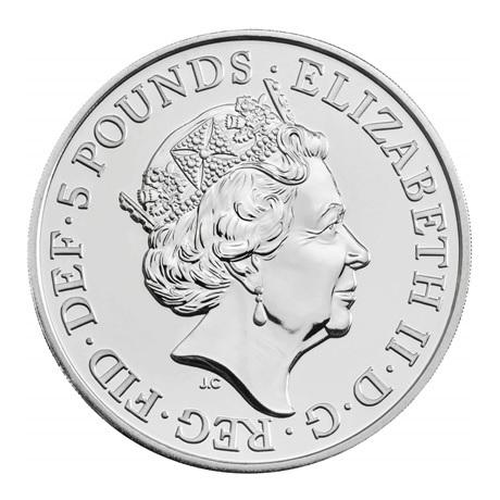 (W185.500.2020.UK20EWBU) 5 Pounds Paix 2020 BU Avers