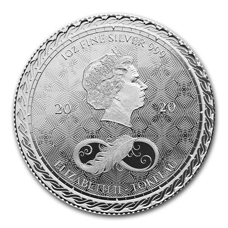 (W221.1.600.2020.1.oz.Ag.1) 6 Dollars Tokelau 2020 1 once argent - Chronos Avers
