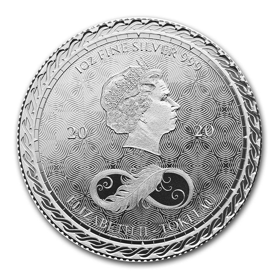 (W221.1.600.2020.1.oz.Ag.1) 6 Dollars Tokelau 2020 1 oz silver - Chronos Obverse (zoom)
