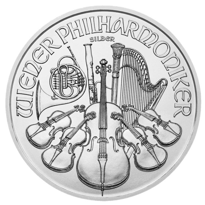 (EUR01.150.2015.21374) 1.50 euro Austria 2015 1 ounce fine silver - Philharmonic Reverse (zoom)