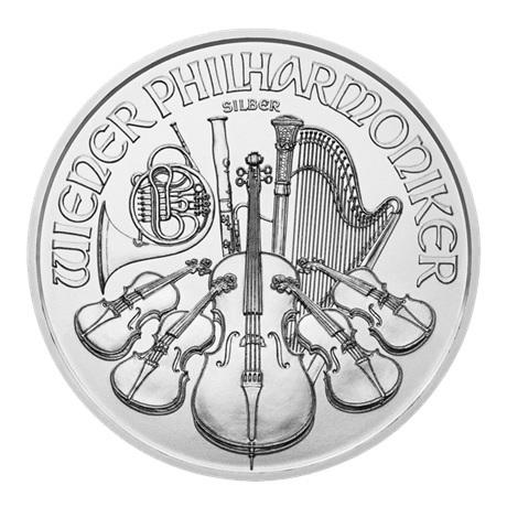 (EUR01.150.2015.21374) 1,50 euro Autriche 2015 1 once argent - Philharmonique Revers