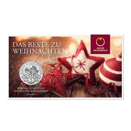 (EUR01.150.2017.21598) 1,50 euro Autriche 2017 1 oz Ag - Philharmonique (packaging)