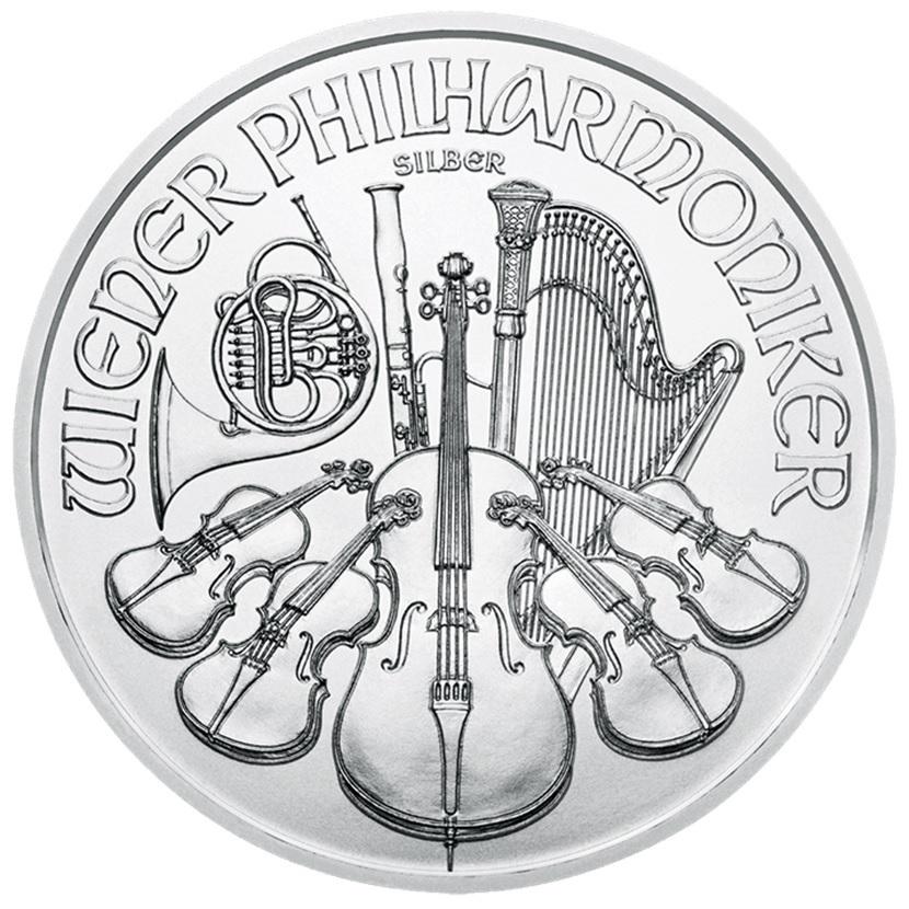(EUR01.150.2020.24965) 1.50 euro Austria 2020 1 ounce fine silver - Philharmonic Reverse (zoom)