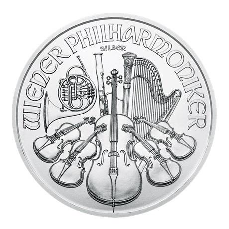 (EUR01.150.2020.24965) 1,50 euro Autriche 2020 1 once argent - Philharmonique Revers