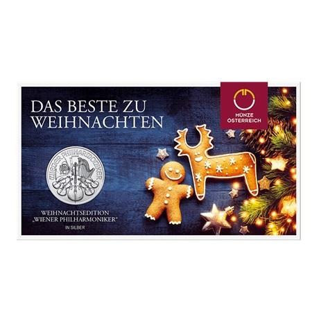 (EUR01.150.2020.24965) 1,50 euro Autriche 2020 1 oz Ag - Philharmonique (packaging)