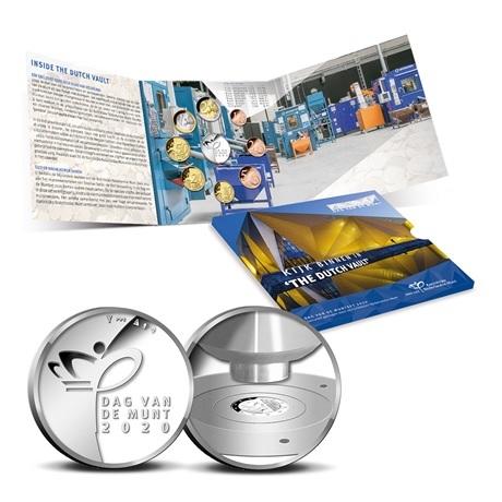 (EUR14.CofBU&FDC.2020.Cof-BU.1) Coffret BU Pays-Bas 2020 - Jour de la Monnaie (intérieur)