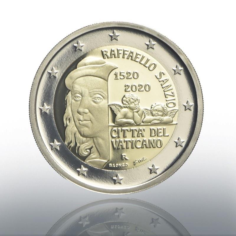 (EUR19.ComBU&BE.2020.CN1548) 2 euro Vatican 2020 Proof - Raffaello Obverse (zoom)