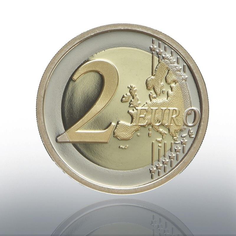 (EUR19.ComBU&BE.2020.CN1548) 2 euro Vatican 2020 Proof - Raffaello Reverse (zoom)