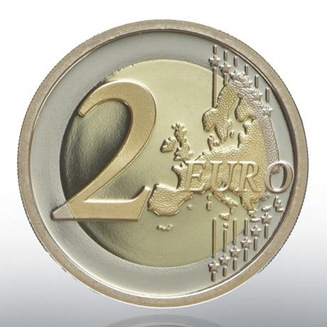 (EUR19.ComBU&BE.2020.CN1548) 2 euro commémorative Vatican 2020 BE - Raphaël Revers