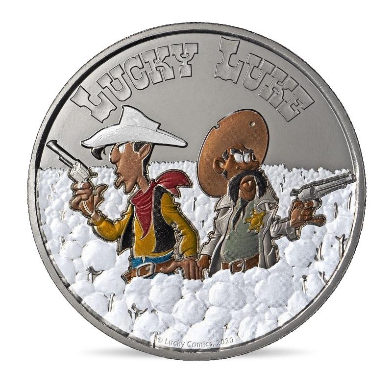 (FMED.Méd.event.2020.10011354090000) Event token - Lucky Luke Obverse (zoom)