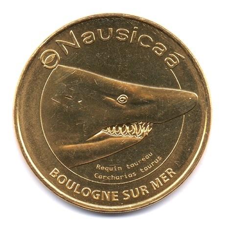 (FMED.Méd.tourist.2020.CuAlNi.50.1.sup.spl.000000001) Nausicaá (requin taureau) Avers
