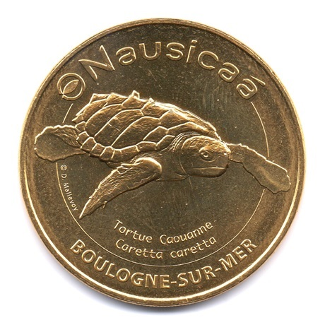 (FMED.Méd.tourist.2020.CuAlNi.50.2.sup.spl.000000001) Nausicaá (tortue caouanne) Avers