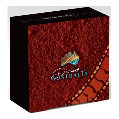 (W017.1.D.2011.1118DEAA) 1 Dollar Australie 2011 1 oz Ag BE - Diable de Tasmanie (boîte)