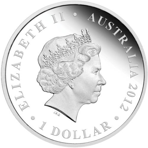(W017.1.D.2012.12R11AAA) 1 Dollar Australia 2012 1 ounce Proof silver - Battle of Kapyong Obverse (zoom)