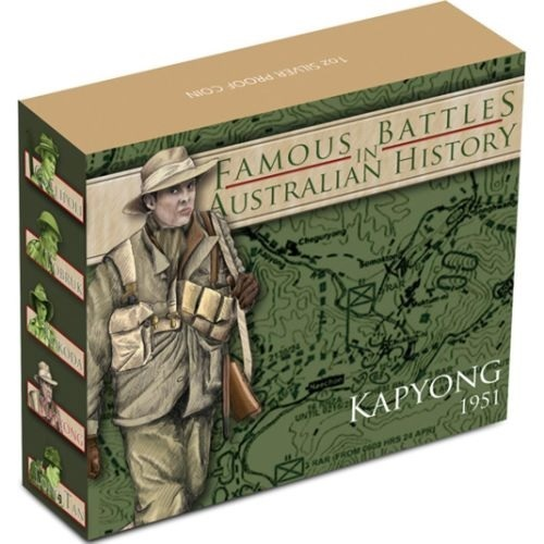 (W017.1.D.2012.12R11AAA) 1 Dollar Australia 2012 1 oz Proof Ag - Battle of Kapyong (box) (zoom)