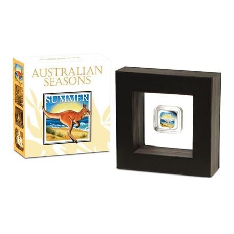(W017.1.D.2013.13T37AAA) 1 Dollar Australie 2013 1 oz Ag BE - Eté (packaging)