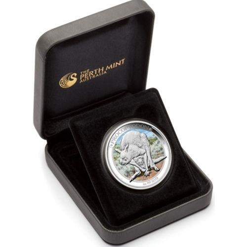 (W017.1.D.2013.13U09AAA) 1 Dollar Australia 2013 1 oz Proof Ag - Procoptodon (case) (zoom)