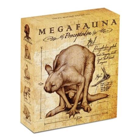 (W017.1.D.2013.13U09AAA) 1 Dollar Australie 2013 1 oz Ag BE - Procoptodon (boîte)