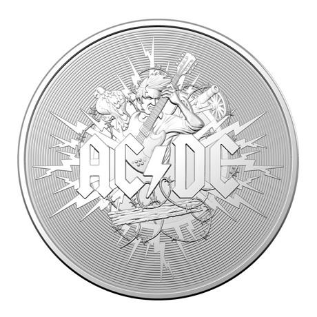(W017.100.2021.10624) 1 Dollar AC DC 2021 - Argent BU Revers