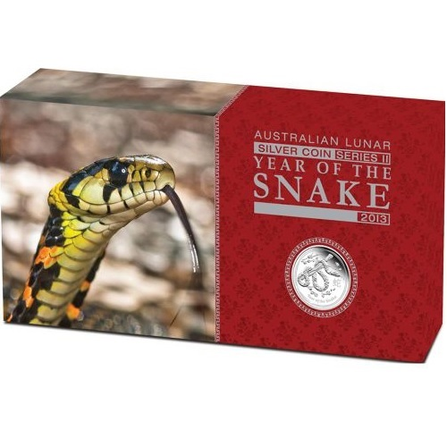(W017.set.2013.2S1316ZBAA) Triptych Australia 2013 Proof silver - Year of the Snake (box) (zoom)