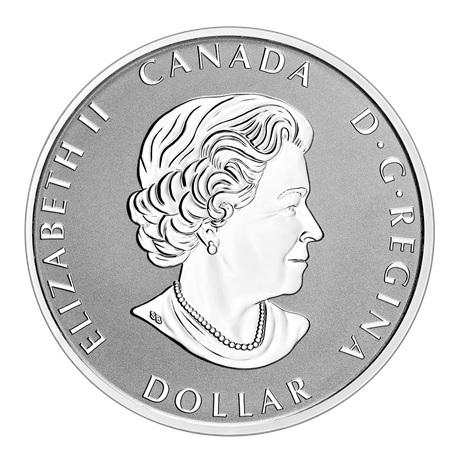 (W037.1.D.2021.179014) 1 Dollar Paix 2021 - Argent BE Avers