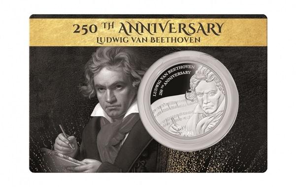 (W073.1.D.2020.1.oz.Ag.1) 1 Dollar Fiji 2020 1 ounce Proof Ag - Ludwig Van Beethoven (packaging) (zoom)
