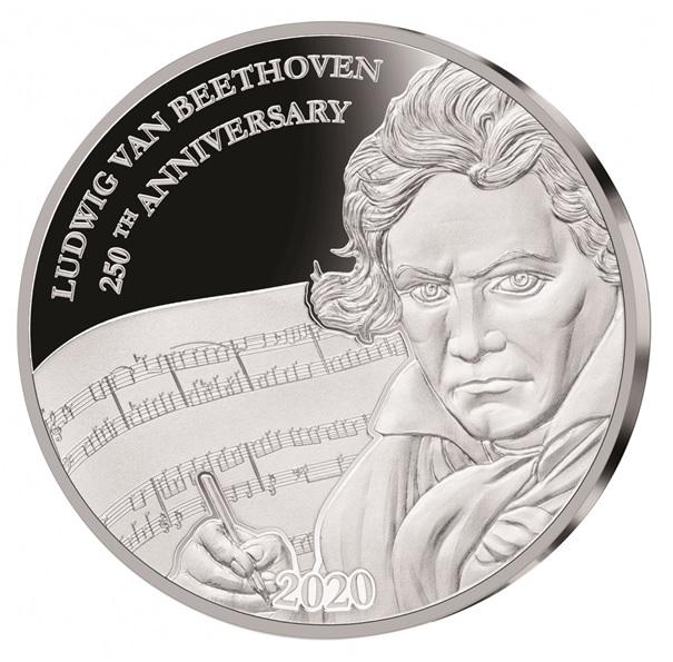 (W073.1.D.2020.1.oz.Ag.1) 1 Dollar Fiji 2020 1 oz Proof silver - Ludwig Van Beethoven Reverse (zoom)