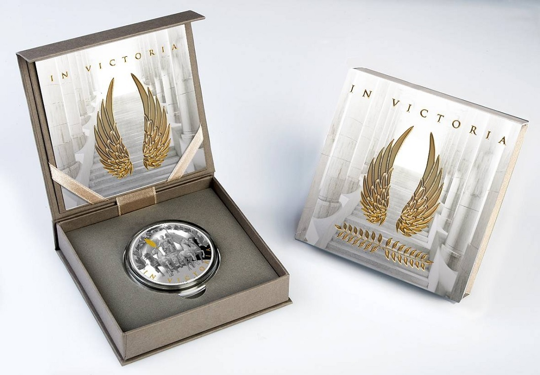 (W160.1.D.2020.1) 1 Dollar Victory 2020 - Proof silver (case) (zoom)