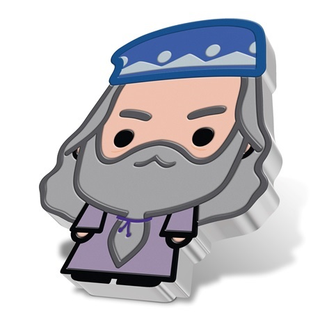 (W160.200.2020.30-01004) 2 Dollars Niue 2020 1 once argent BE - Chibi Albus Dumbledore (tranche)