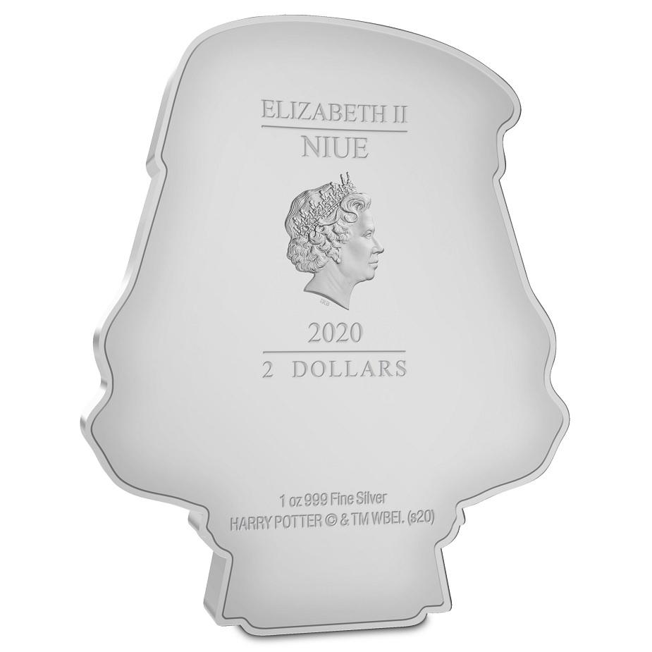 (W160.200.2020.30-01004) 2 Dollars Niue 2020 1 oz Proof silver - Chibi Albus Percival Obverse (zoom)