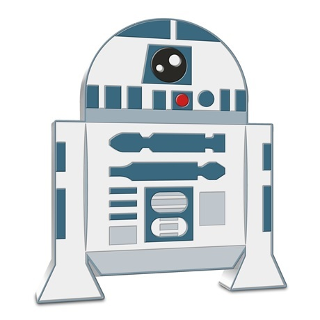 (W160.200.2020.30-01013) 2 Dollars Niue 2020 1 once argent BE - Chibi R2-D2 Revers