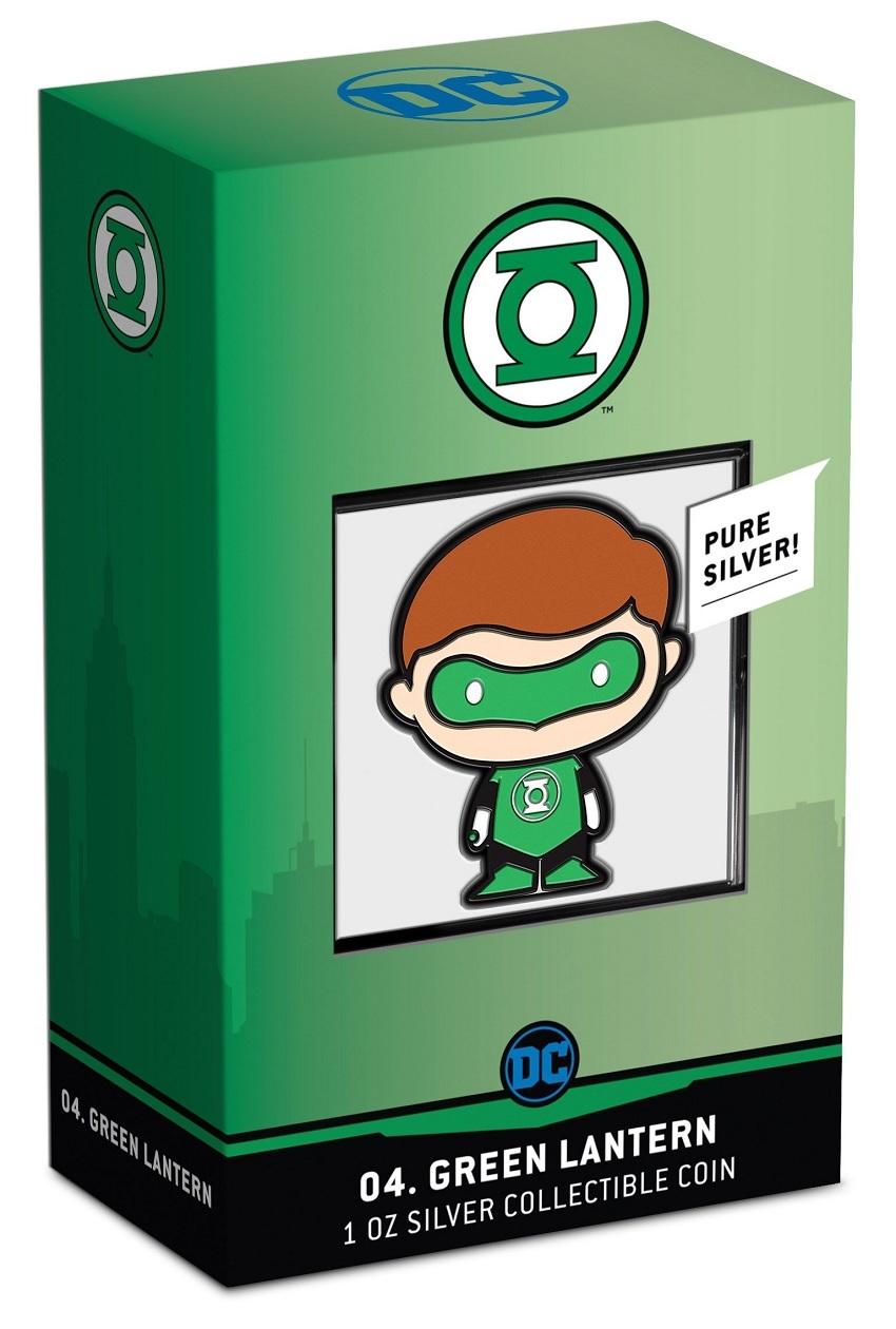 (W160.200.2020.30-01014) 2 Dollars Niue 2020 1 oz Proof Ag - Chibi Green Lantern (packaging) (zoom)