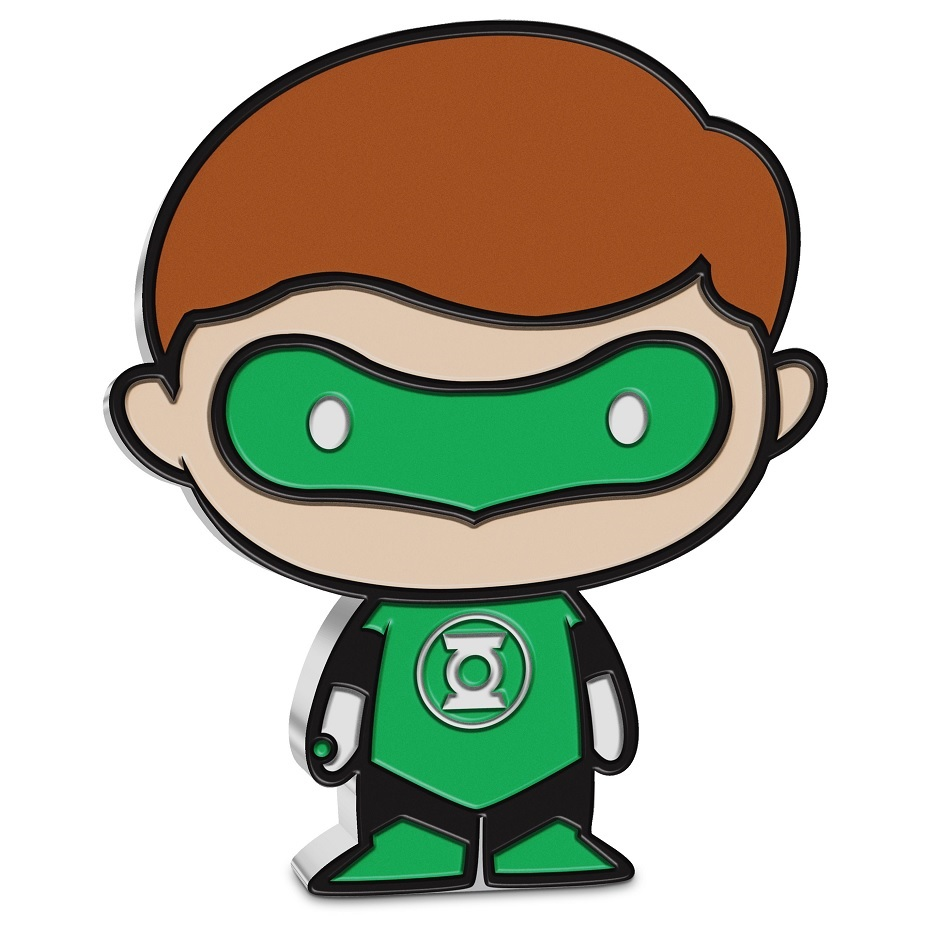 (W160.200.2020.30-01014) 2 Dollars Niue 2020 1 oz Proof silver - Chibi Green Lantern Reverse (zoom)