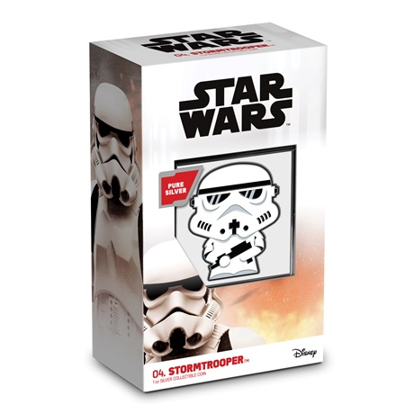 (W160.200.2020.30-01016) 2 Dollars Niue 2020 1 once Ag BE - Chibi Stormtrooper (packaging)