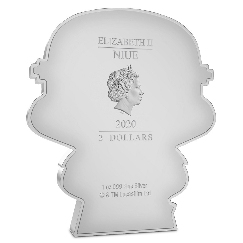 (W160.200.2020.30-01016) 2 Dollars Niue 2020 1 oz Proof silver - Chibi Stormtrooper Obverse (zoom)